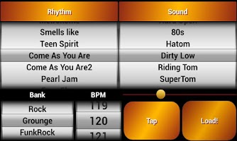 Screenshot of Rock Drum Machine Free