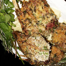Mustard and Herb Crusted Lamb Rack