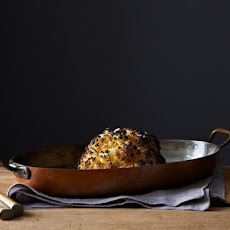 Alon Shaya's Whole Roasted Cauliflower and Whipped Goat Cheese