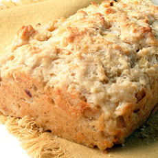 Onion and Fontina Beer Batter Bread