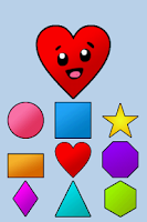 Screenshot of Toddler Shapes Kids