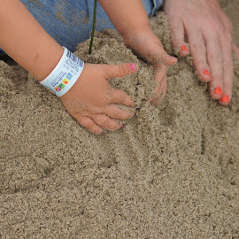 Building Sand Castles by Cheri Bryan - Babies & Children Hands & Feet (  )