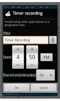 Screenshot of VoiceRecorder Pro