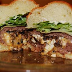 Texas Stuffed Grilled Burgers