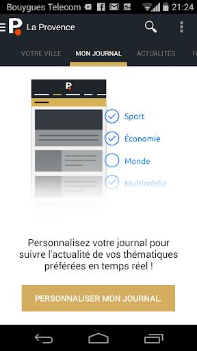 La Provence - screenshot