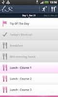 Screenshot of LWR Personal Trainer