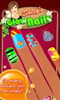 Screenshot of Sally's Glow Nails