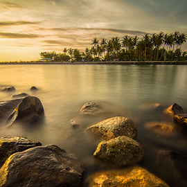 MP Stones by Ade Noverzan - Landscapes Waterscapes ( water, beach, stones )