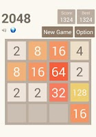 Screenshot of 2048 Puzzle