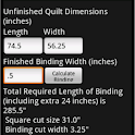 Bias Binding Calculator icon