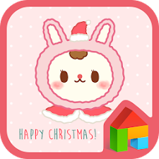 rabbit bbobbo happy Xmas dodol