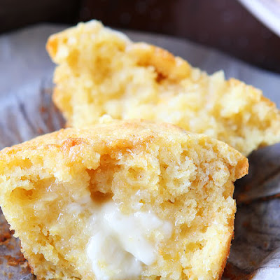Sweet Honey & Jalapeño Cornbread Muffins