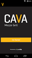 Screenshot of Cava Grill Loyalty
