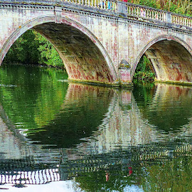 Clumber Park by Costa Philippou - Buildings & Architecture Bridges & Suspended Structures ( uk, park, clumber, victorian, bridge )