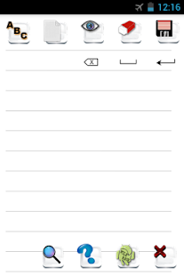 App Invisible Pen Memo Note Lite APK for Windows Phone