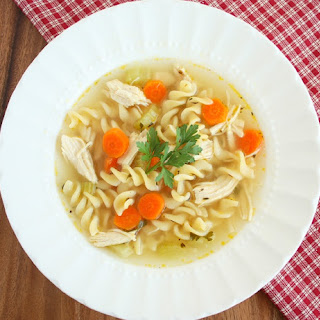 Italian Vegetable Noodle Soup Recipes