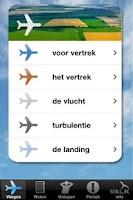 Screenshot of Vlieg App