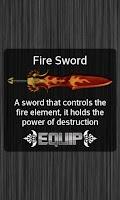 Screenshot of Swords