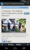 Screenshot of Reality TV News - NewsFusion