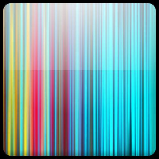 个人化のカラーストライプの壁紙を生きる LOGO-記事Game