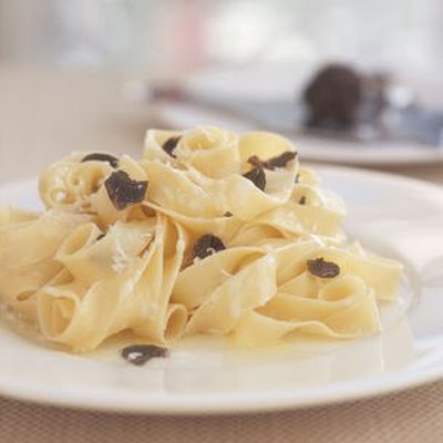 Fettuccine with Black Truffles
