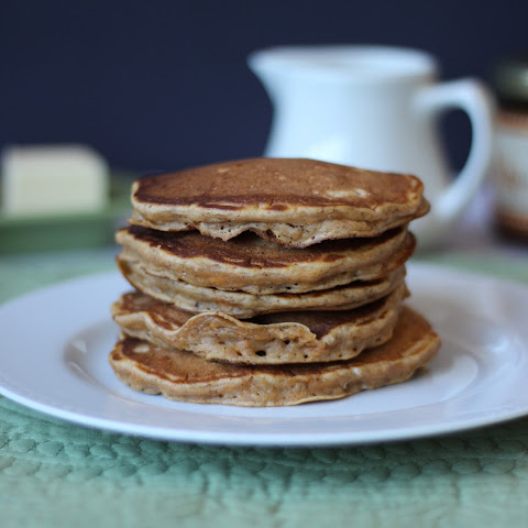 Sweet Potato Pecan Pancakes