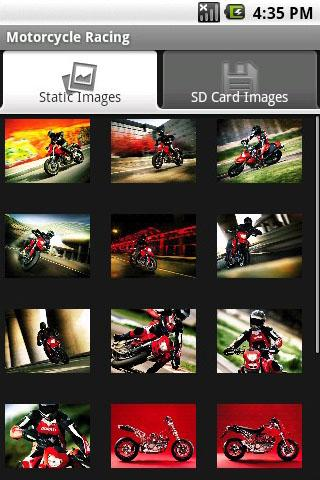 motorcycle-racing for android screenshot