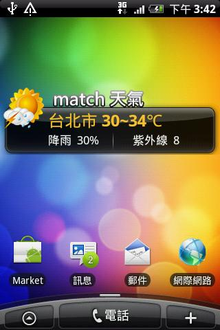 match天氣