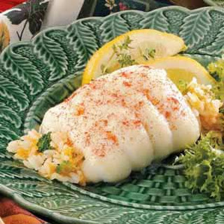 Broccoli-Stuffed Sole