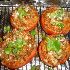 Easy Roasted Stuffed Tomatoes
