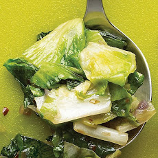 Escarole with Onion and Lemon