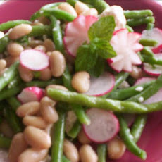 Asparagus, Bean, and Feta Salad