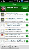 Screenshot of Scrap Metal Forum MOBILE