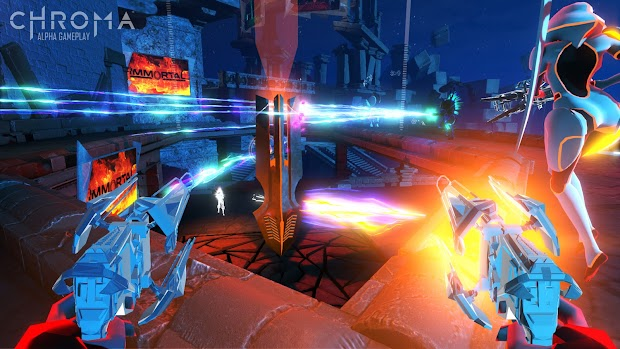 Harmonix reveals a music-based FPS, Chroma