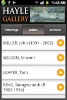 Screenshot of Hayle Gallery