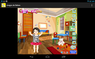 Screenshot of Baby care games