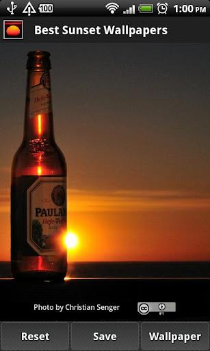 【免費個人化App】Best Sunset Wallpapers-APP點子