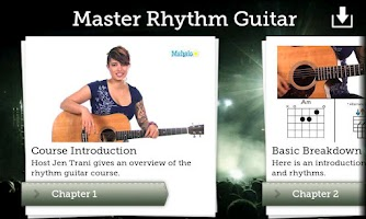 Screenshot of Master Rhythm Guitar FREE
