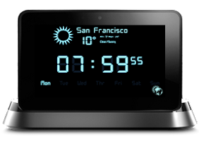 Screenshot of Digital Alarm Clock