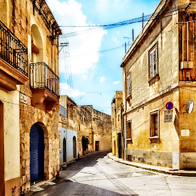 Zebbug-Malta by Lino Chetcuti - City,  Street & Park  Neighborhoods