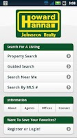 Screenshot of Howard Hanna Johnston Realty