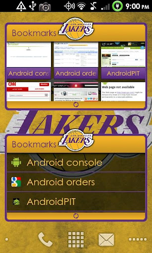LauncherPro s23 SPORTS-LAKERS