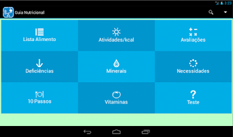 Screenshot of Guia Nutricional Gratuito