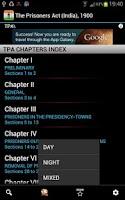 Screenshot of TPA - The Prisoners Act 1900