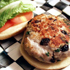 Cherry Turkey Burgers