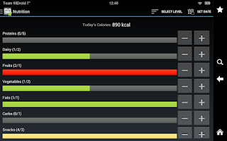 Screenshot of Extreme Fitness Tracker Pro