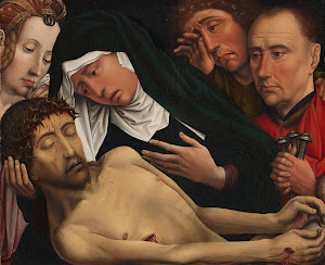 RIJKS: Colijn de Coter: The Lamentation of Christ 1515