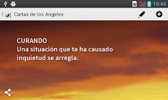 Screenshot of Cartas de los Angeles