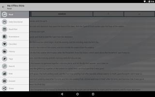 Screenshot of My Offline Bible