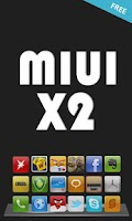 Screenshot of MIUI X2 Go/Apex/ADW Theme FREE